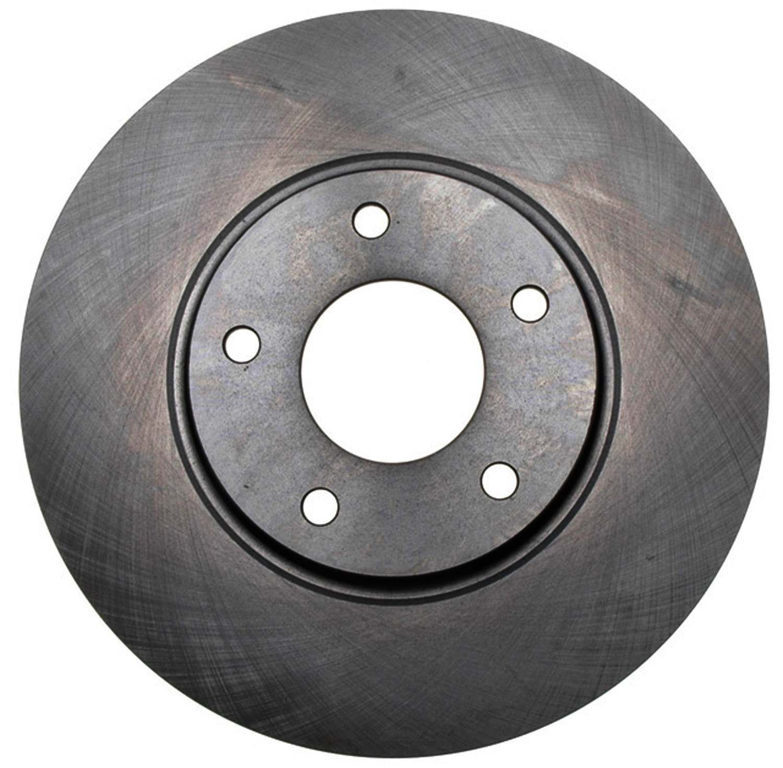 ACDELCO ADVANTAGE - Non-Coated Disc Brake Rotor (Front) - DCD 18A2361A