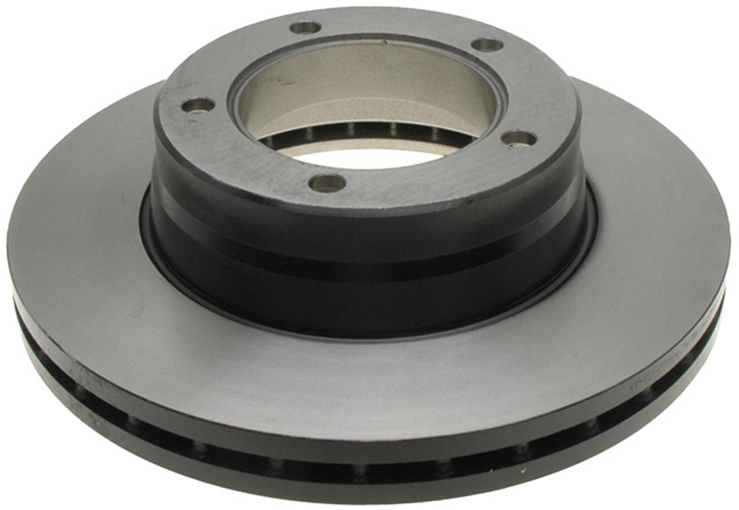 ACDELCO GOLD/PROFESSIONAL BRAKES - Black Hat (Rear) - ADU 18A2442
