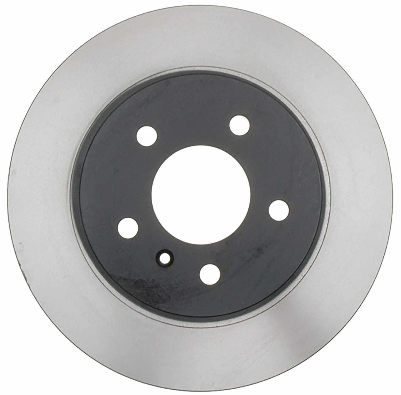 ACDELCO SILVER/ADVANTAGE - Coated Disc Brake Rotor (Rear) - DCD 18A2484AC