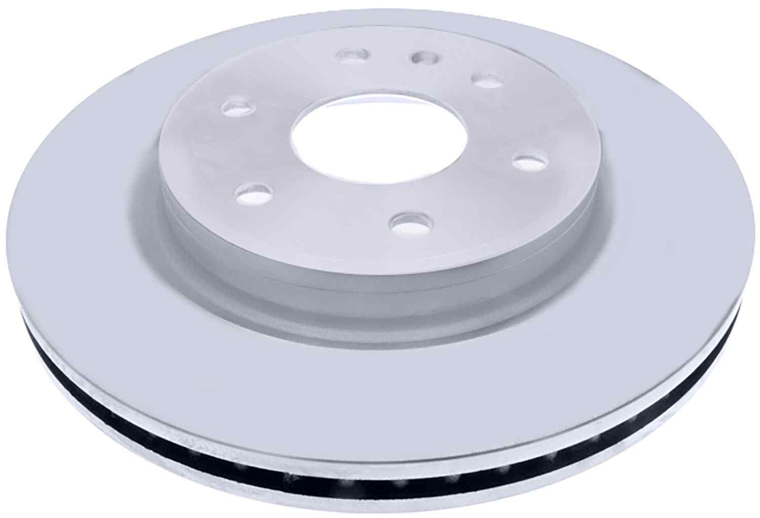 ACDELCO SILVER/ADVANTAGE - Coated Disc Brake Rotor (Front) - DCD 18A2497AC