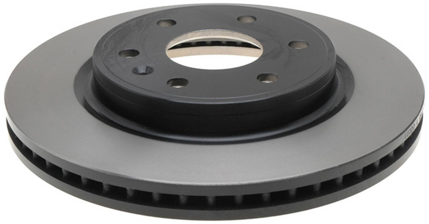 ACDELCO GOLD/PROFESSIONAL BRAKES - Black Hat (Front) - ADU 18A2497