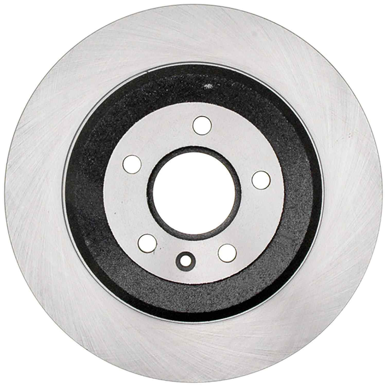 ACDELCO SILVER/ADVANTAGE - Coated Disc Brake Rotor (Rear) - DCD 18A2629AC