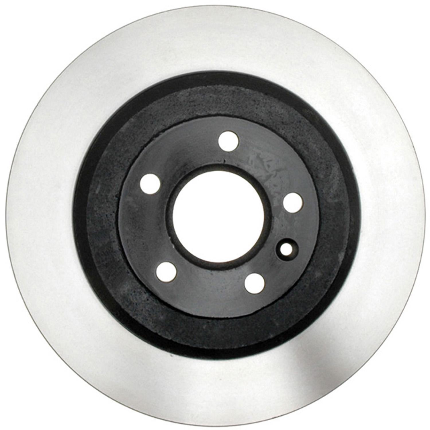 ACDELCO GOLD/PROFESSIONAL BRAKES - Black Hat (Rear) - ADU 18A2629