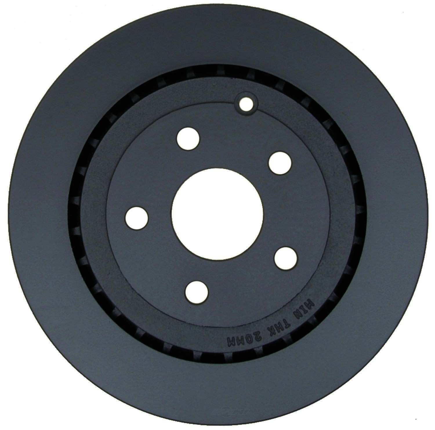 ACDELCO SPECIALTY - Police Disc Brake Rotor - DCE 18A2662PV