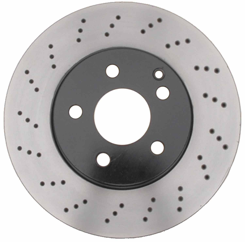 ACDELCO PROFESSIONAL BRAKES - Disc Brake Rotor - ADU 18A2769