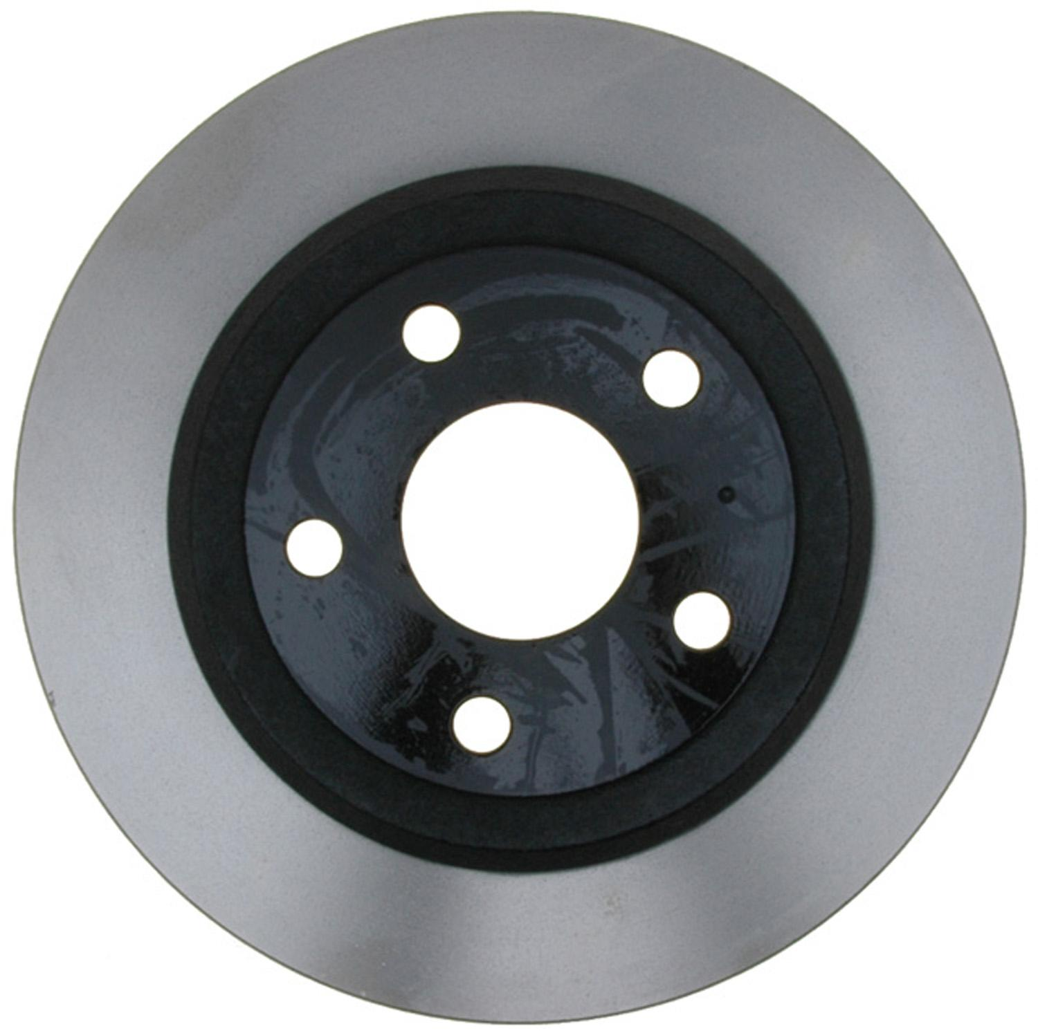ACDELCO GOLD/PROFESSIONAL BRAKES - Black Hat (Rear) - ADU 18A2792