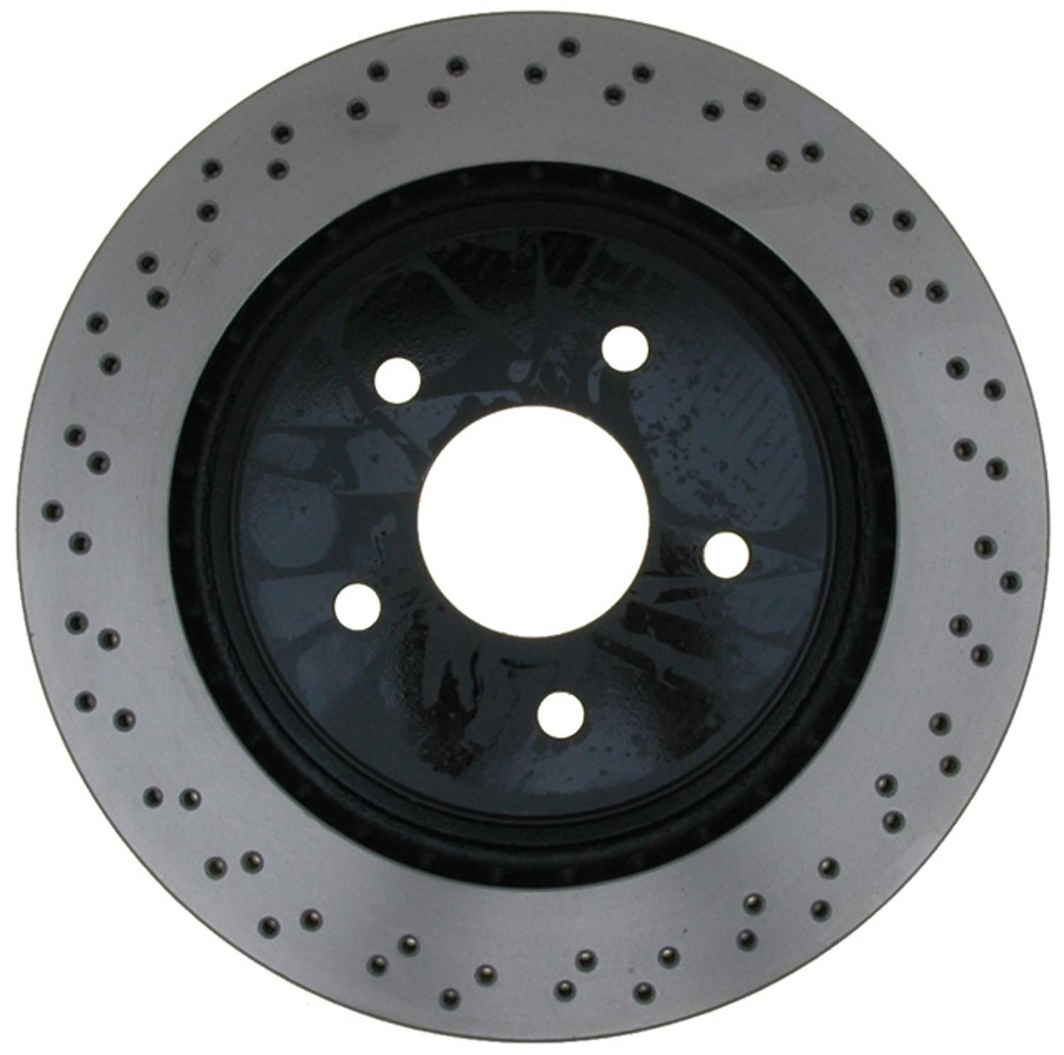 ACDELCO PROFESSIONAL BRAKES - Disc Brake Rotor (Rear) - ADU 18A2806