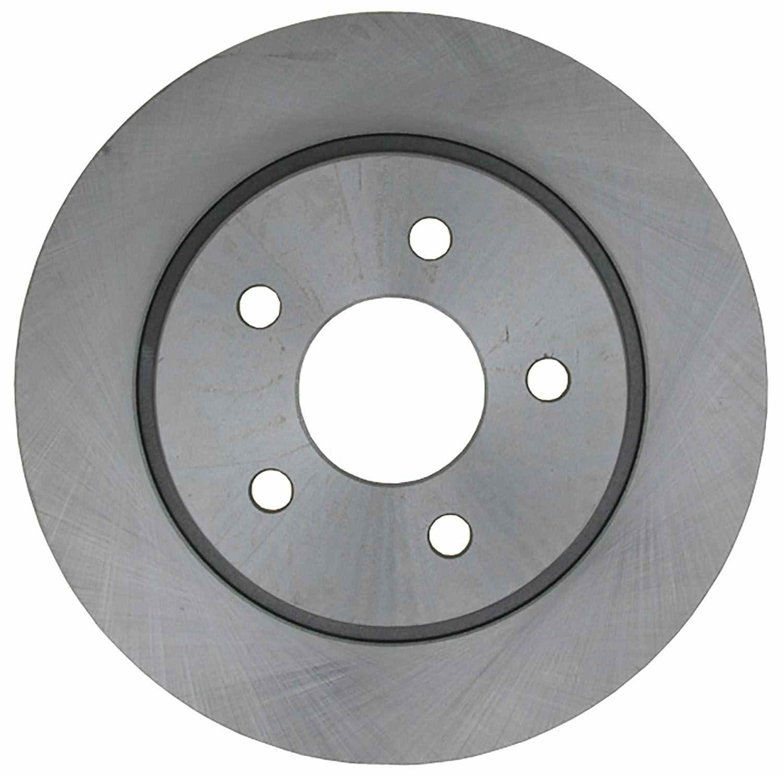 ACDELCO ADVANTAGE - Coated Disc Brake Rotor (Rear) - DCD 18A2842AC
