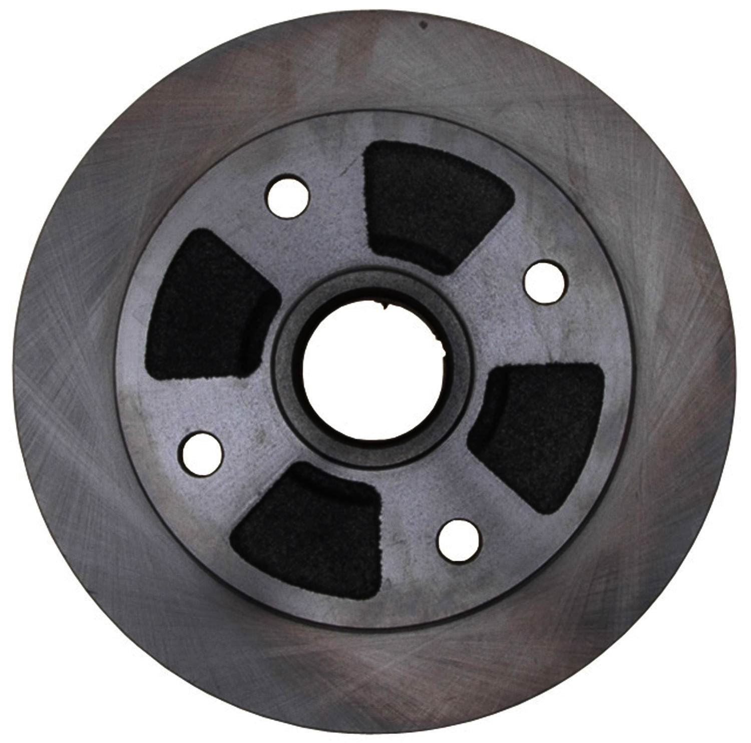 ACDELCO ADVANTAGE - Non-Coated Disc Brake Rotor & Hub Assembly - DCD 18A369A
