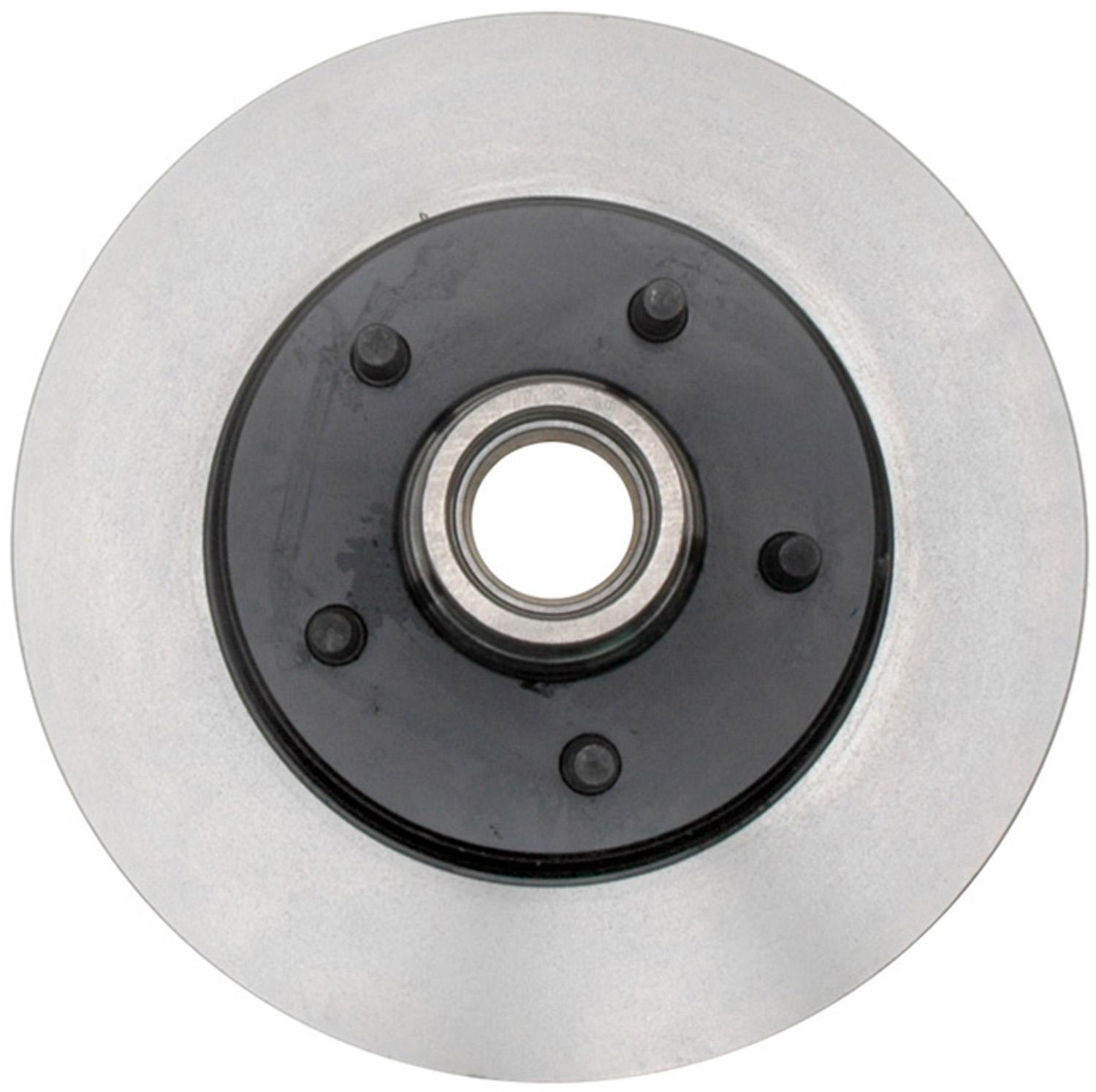 ACDELCO PROFESSIONAL BRAKES - Disc Brake Rotor and Hub Assembly (Front) - ADU 18A417