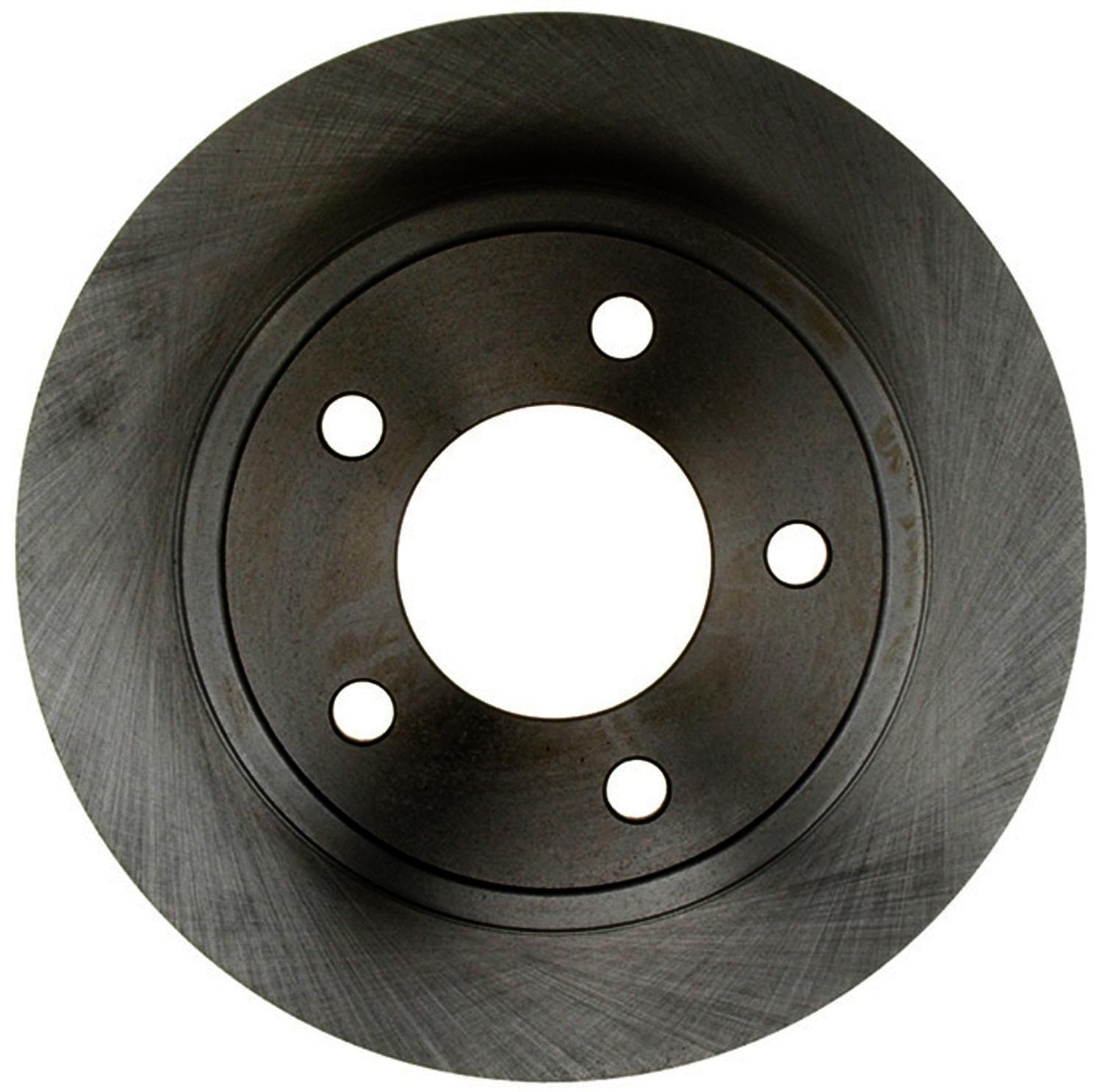 ACDELCO ADVANTAGE - Non-Coated Disc Brake Rotor - DCD 18A550A