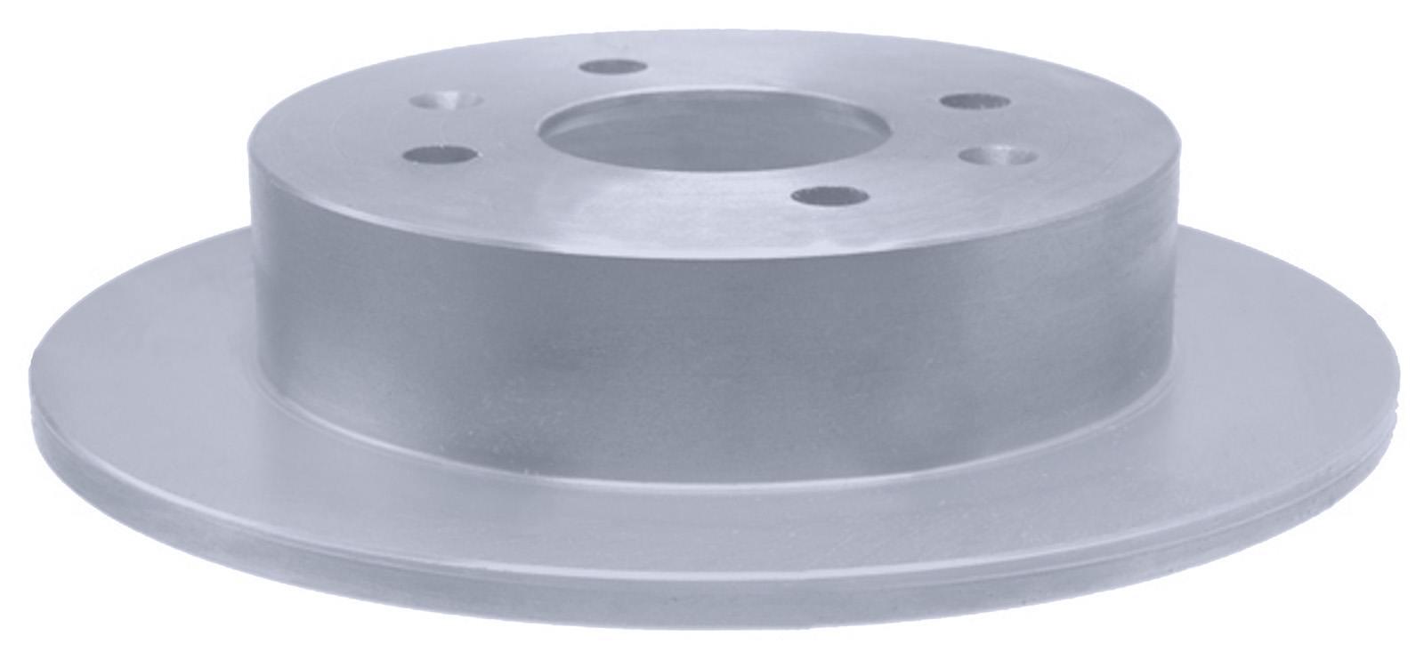 ACDELCO ADVANTAGE - Coated Disc Brake Rotor (Rear) - DCD 18A710AC