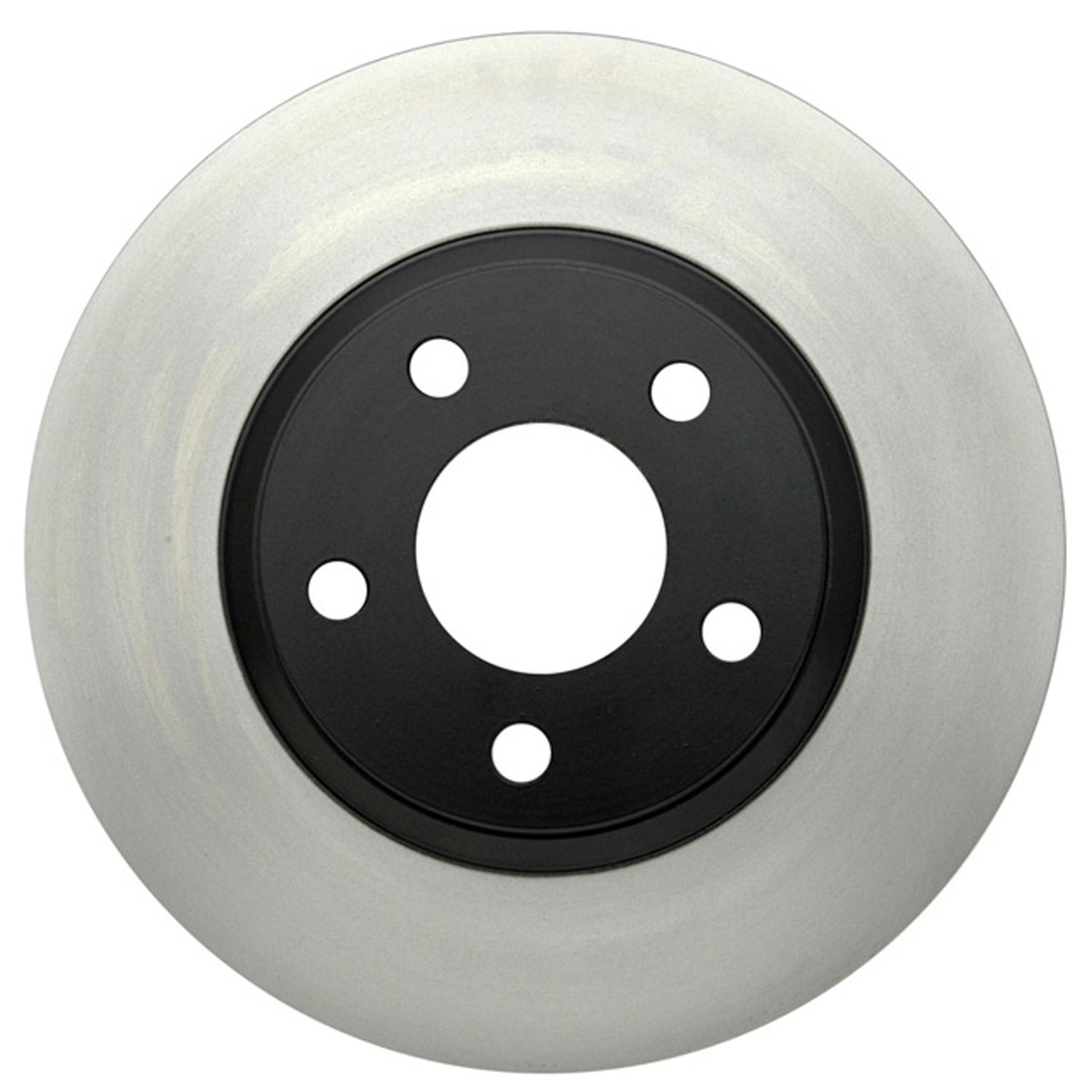 ACDELCO GOLD/PROFESSIONAL BRAKES - Black Hat (Front) - ADU 18A813