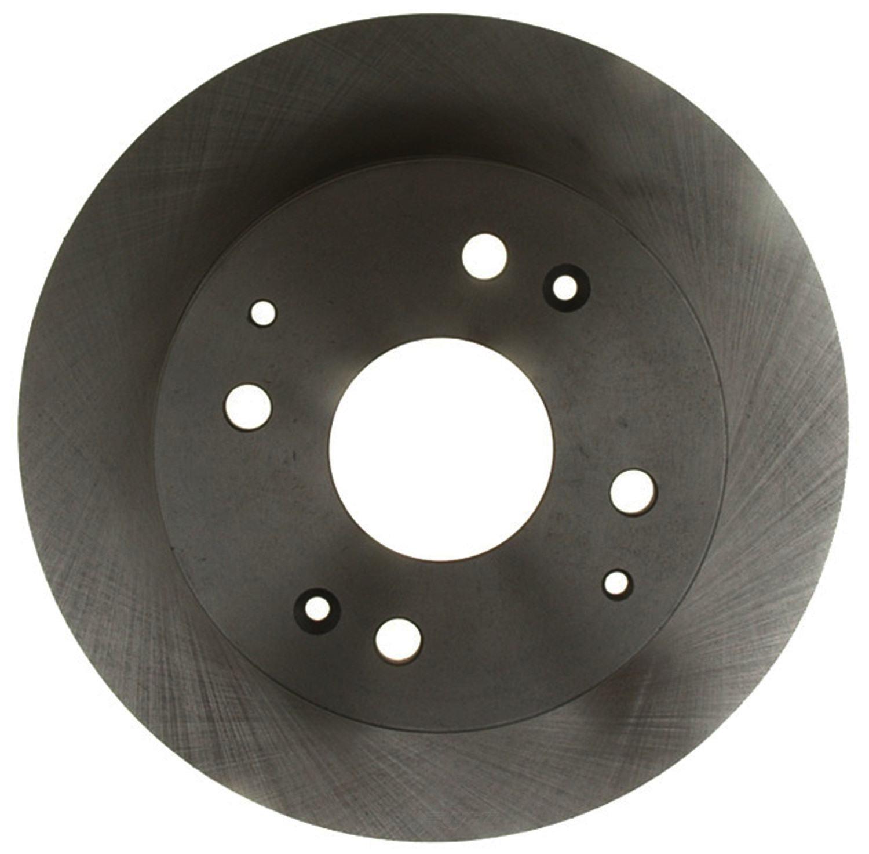 ACDelco 18A400A Advantage Non-Coated Rear Disc Brake Rotor