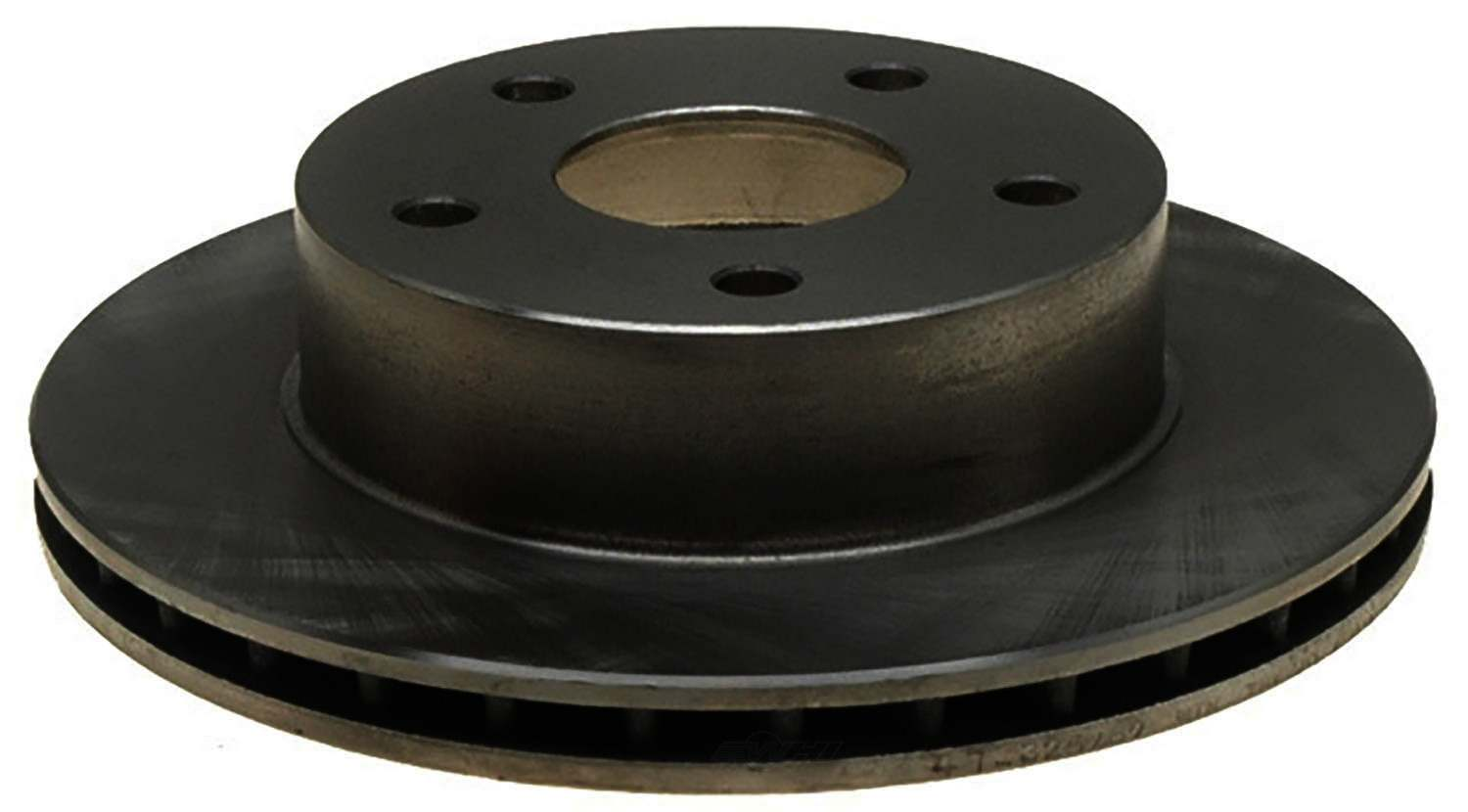 ACDELCO ADVANTAGE - Non-Coated Disc Brake Rotor (Front Right) - DCD 18A883A