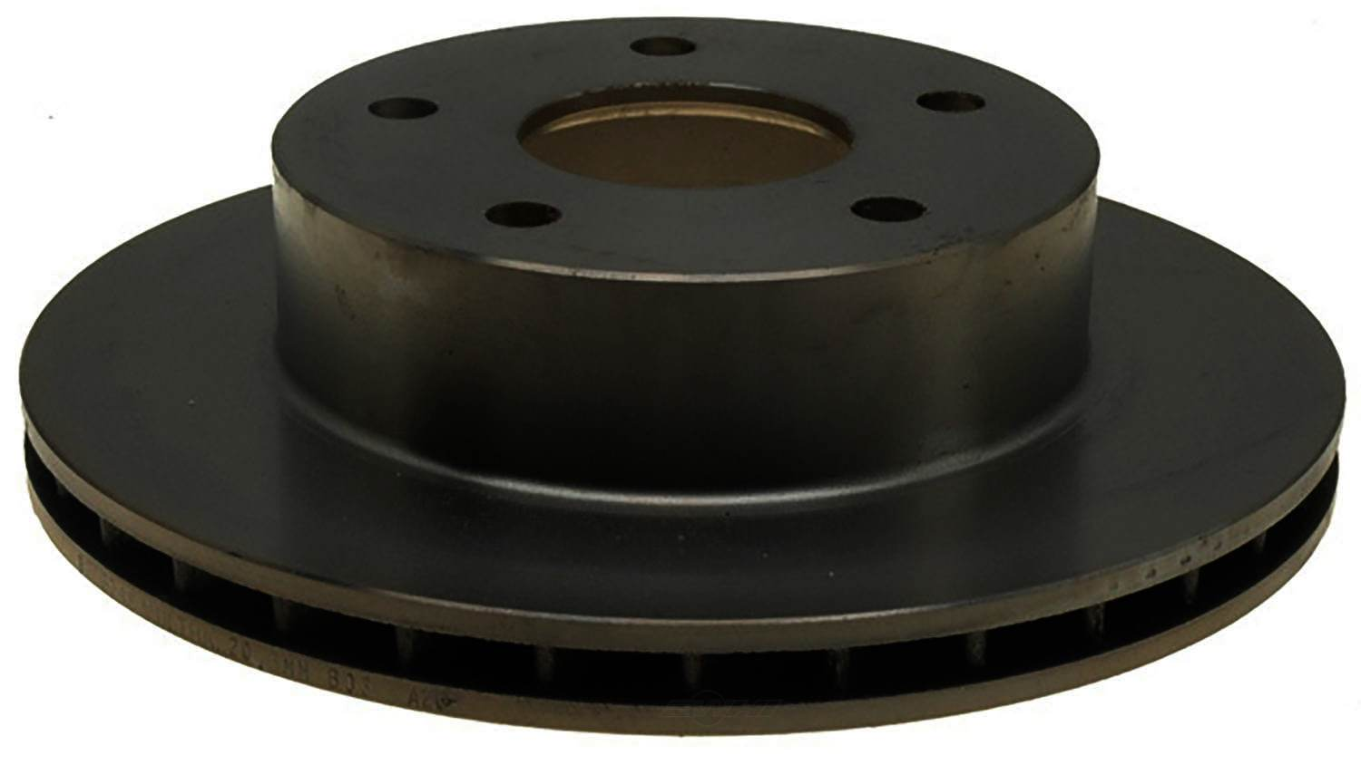 ACDELCO ADVANTAGE - Non-Coated Disc Brake Rotor (Front Left) - DCD 18A884A