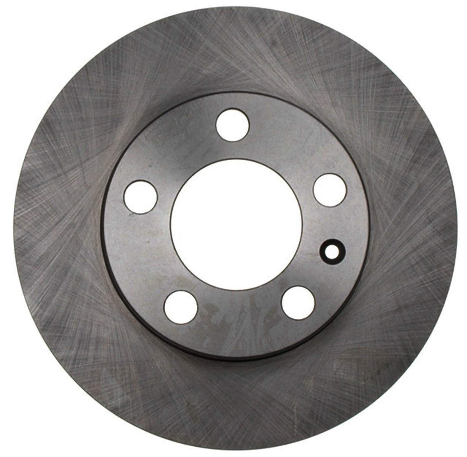 ACDELCO SILVER/ADVANTAGE - Non-Coated Disc Brake Rotor - DCD 18A943A