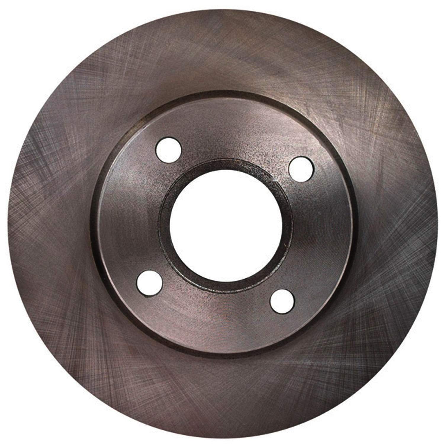 ACDELCO ADVANTAGE - Non-Coated Disc Brake Rotor - DCD 18A967A