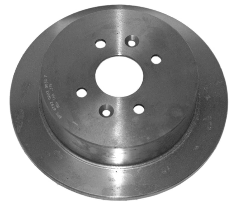 ACDELCO PROFESSIONAL BRAKES - Disc Brake Rotor (Rear) - ADU 18A981