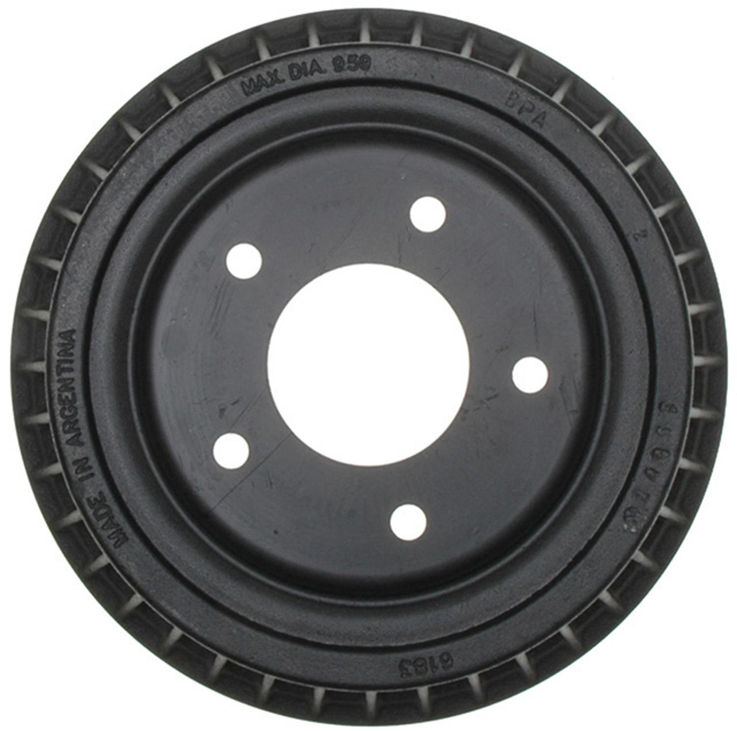 ACDELCO ADVANTAGE - Brake Drum - DCD 18B106A