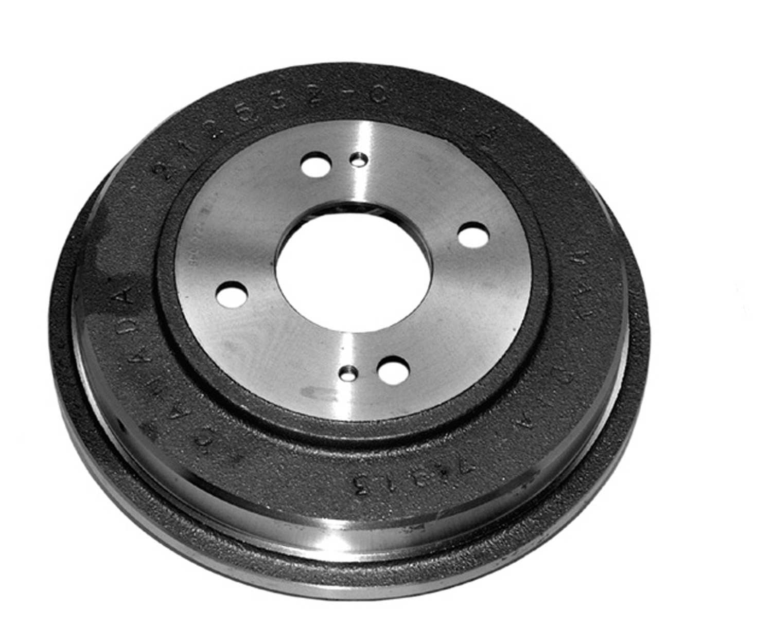 ACDELCO PROFESSIONAL BRAKES - Brake Drum (Rear) - ADU 18B537