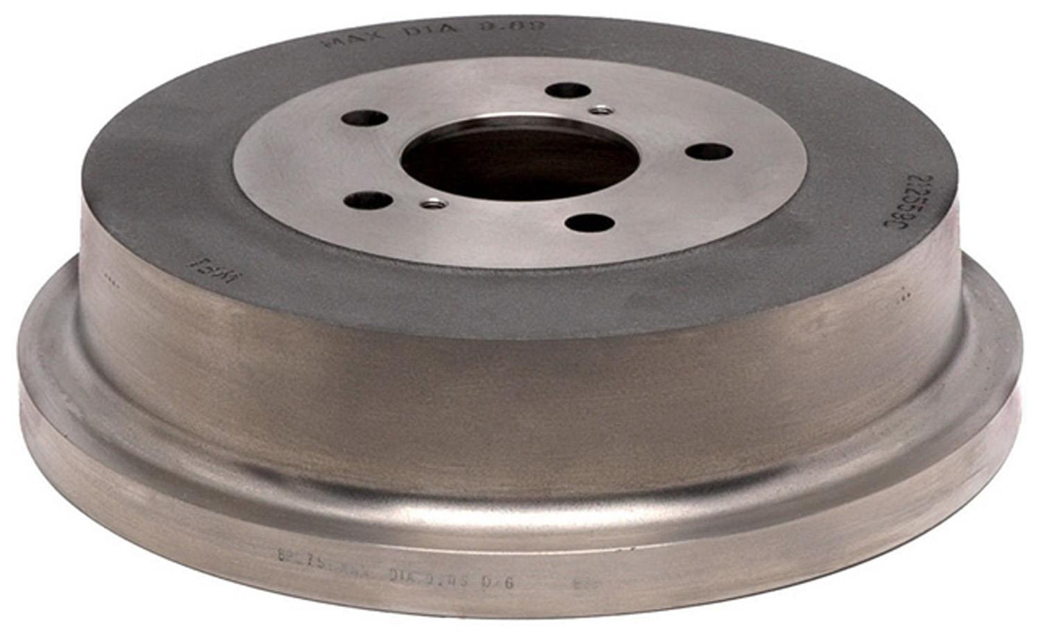 ACDELCO PROFESSIONAL BRAKES - Brake Drum (Rear) - ADU 18B553