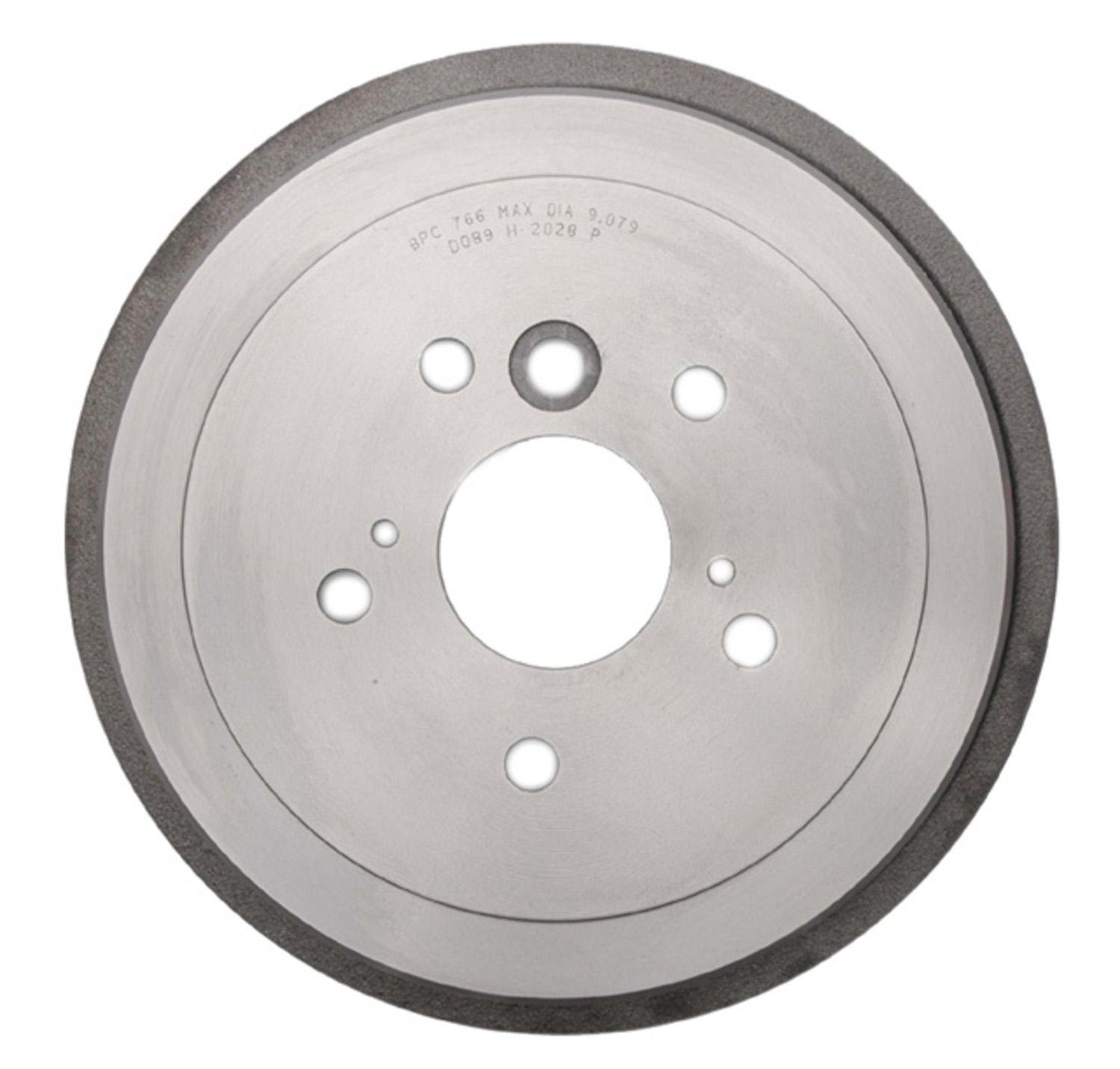 ACDELCO SILVER/ADVANTAGE - Brake Drum (Rear) - DCD 18B556A