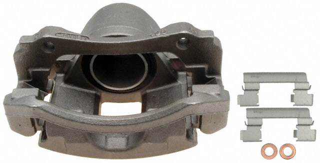 ACDELCO PROFESSIONAL BRAKES - Reman Friction Ready Non-Coated Disc Brake Caliper (Front Left) - ADU 18FR1215