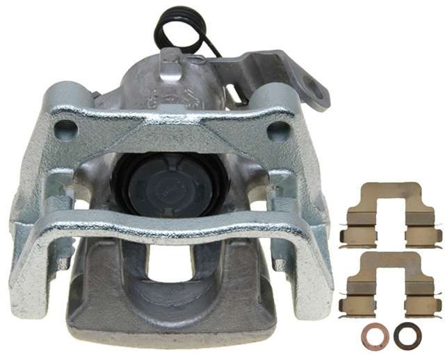 ACDELCO PROFESSIONAL BRAKES - Reman Friction Ready Non-Coated Disc Brake Caliper (Rear Right) - ADU 18FR12285
