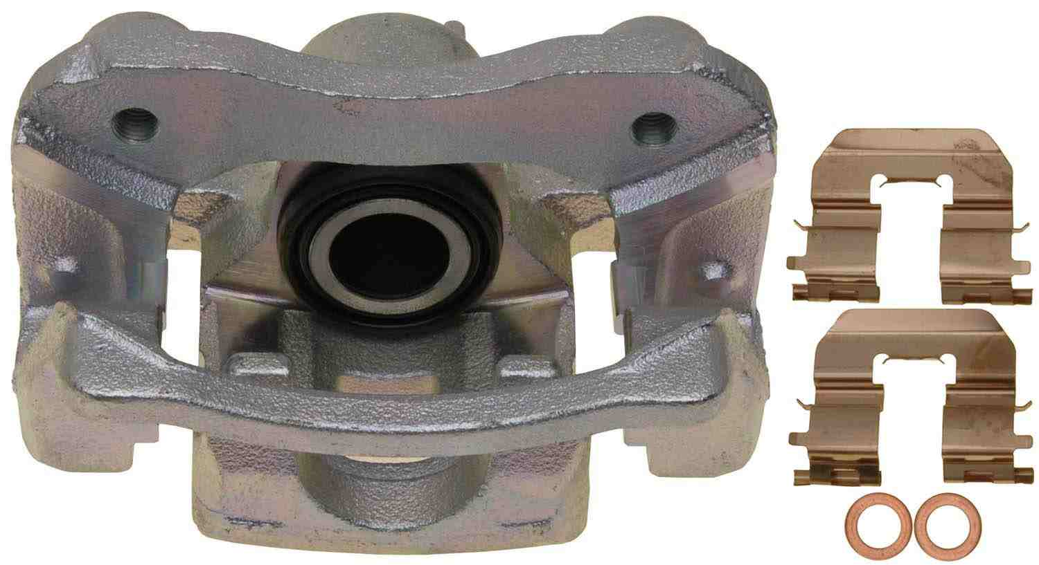 ACDELCO PROFESSIONAL BRAKES - Reman Friction Ready Non-Coated Disc Brake Caliper (Rear Left) - ADU 18FR12318
