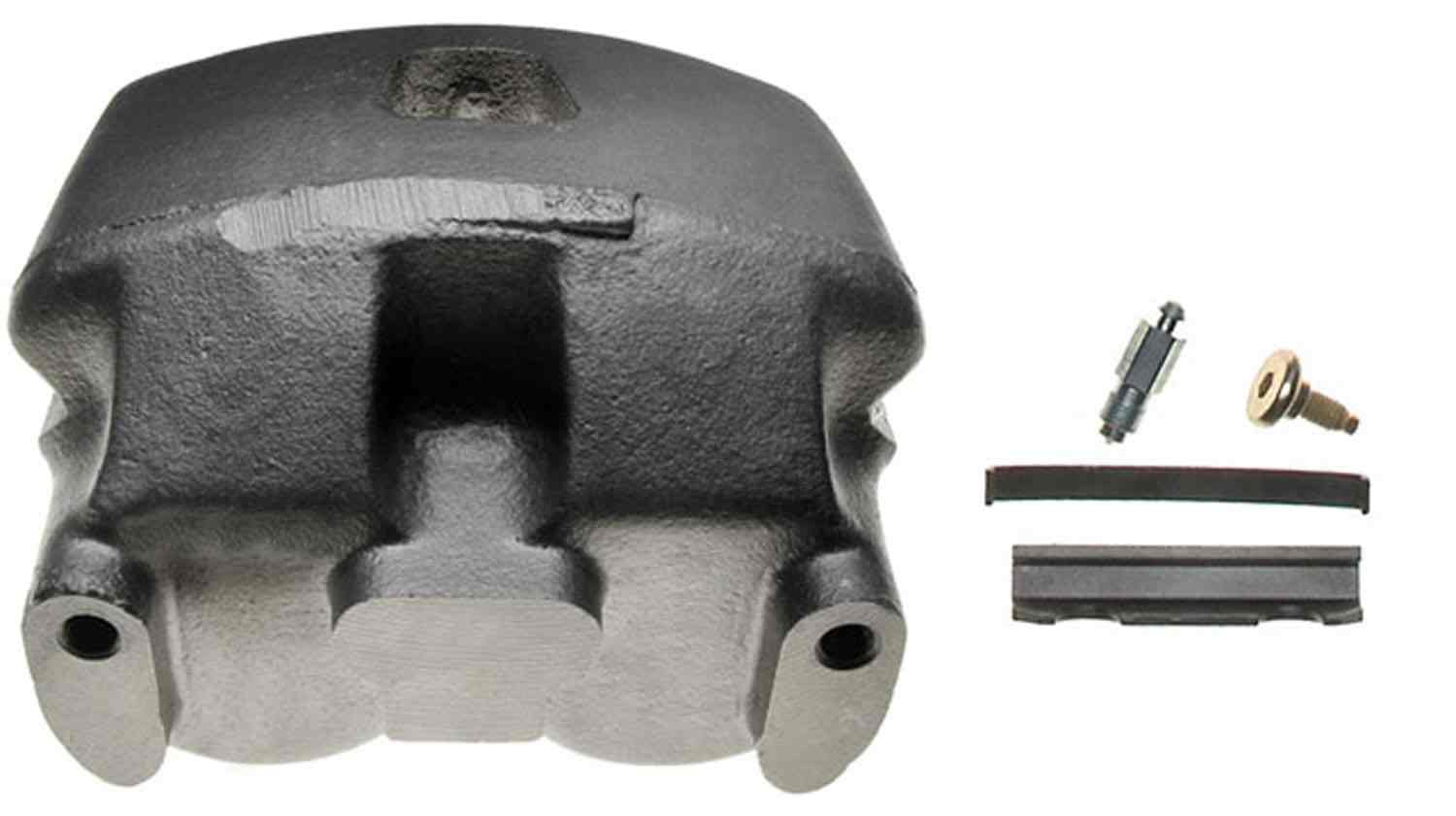 ACDELCO PROFESSIONAL BRAKES - Remanufactured Friction Ready Non-Coated - ADU 18FR1330