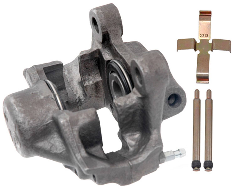 ACDELCO PROFESSIONAL BRAKES - Reman Friction Ready Non-Coated Disc Brake Caliper (Rear Left) - ADU 18FR1468
