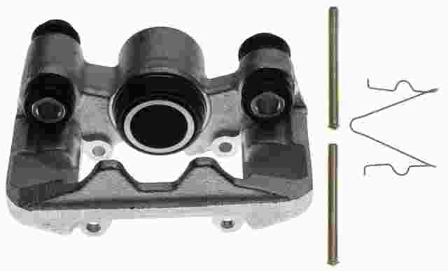 ACDELCO PROFESSIONAL BRAKES - Reman Friction Ready Non-Coated Disc Brake Caliper (Rear Left) - ADU 18FR1908