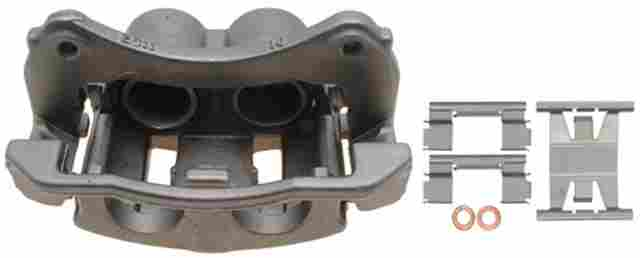 ACDELCO PROFESSIONAL BRAKES - Reman Friction Ready Non-Coated Disc Brake Caliper - ADU 18FR2118