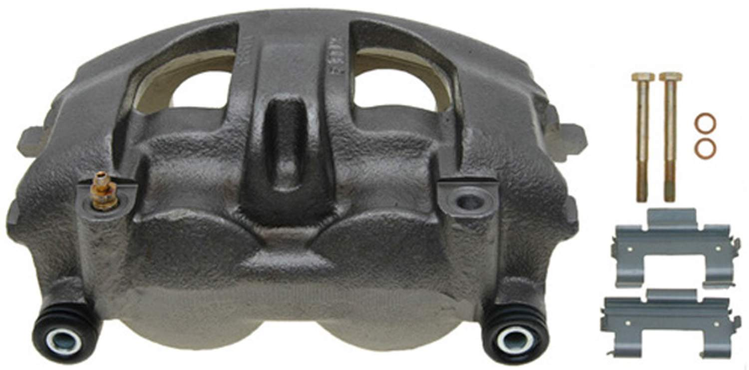 ACDELCO GOLD/PROFESSIONAL BRAKES - Reman Friction Ready Non-Coated Disc Brake Caliper (Rear) - ADU 18FR2528