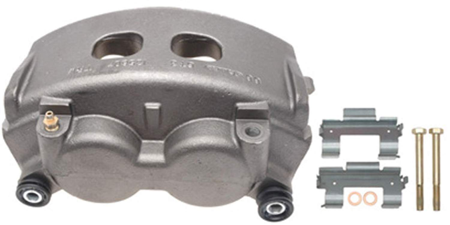 ACDELCO GOLD/PROFESSIONAL BRAKES - Reman Friction Ready Non-Coated Disc Brake Caliper (Front) - ADU 18FR2576