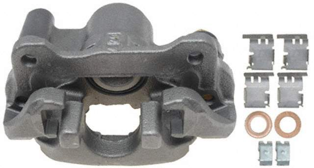 ACDELCO PROFESSIONAL BRAKES - Reman Friction Ready Non-Coated Disc Brake Caliper (Rear Left) - ADU 18FR2691