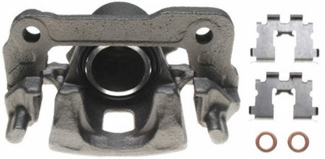 ACDELCO PROFESSIONAL BRAKES - Reman Friction Ready Non-Coated Disc Brake Caliper - ADU 18FR2