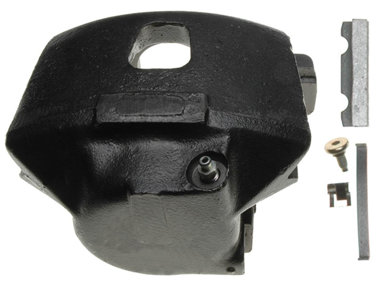 ACDELCO PROFESSIONAL BRAKES - Reman Friction Ready Non-Coated Disc Brake Caliper (Front Left) - ADU 18FR652