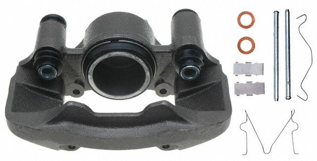 ACDELCO PROFESSIONAL BRAKES - Reman Friction Ready Non-Coated Disc Brake Caliper - ADU 18FR678