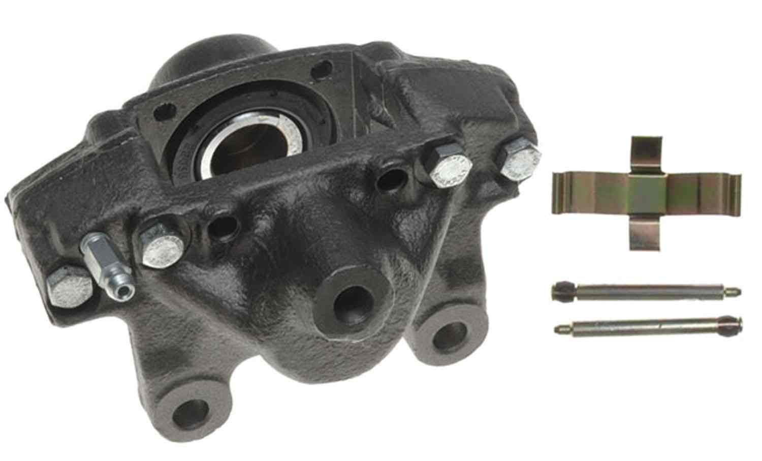 ACDELCO PROFESSIONAL BRAKES - Reman Friction Ready Non-Coated Disc Brake Caliper (Rear Right) - ADU 18FR927