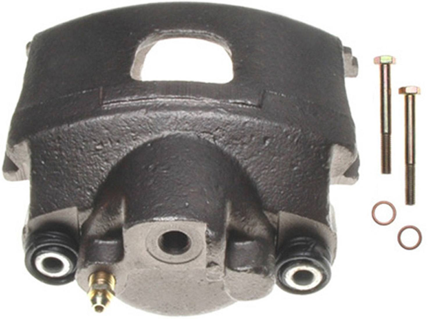 ACDELCO PROFESSIONAL BRAKES - Reman Friction Ready Non-Coated Disc Brake Caliper - ADU 18FR993