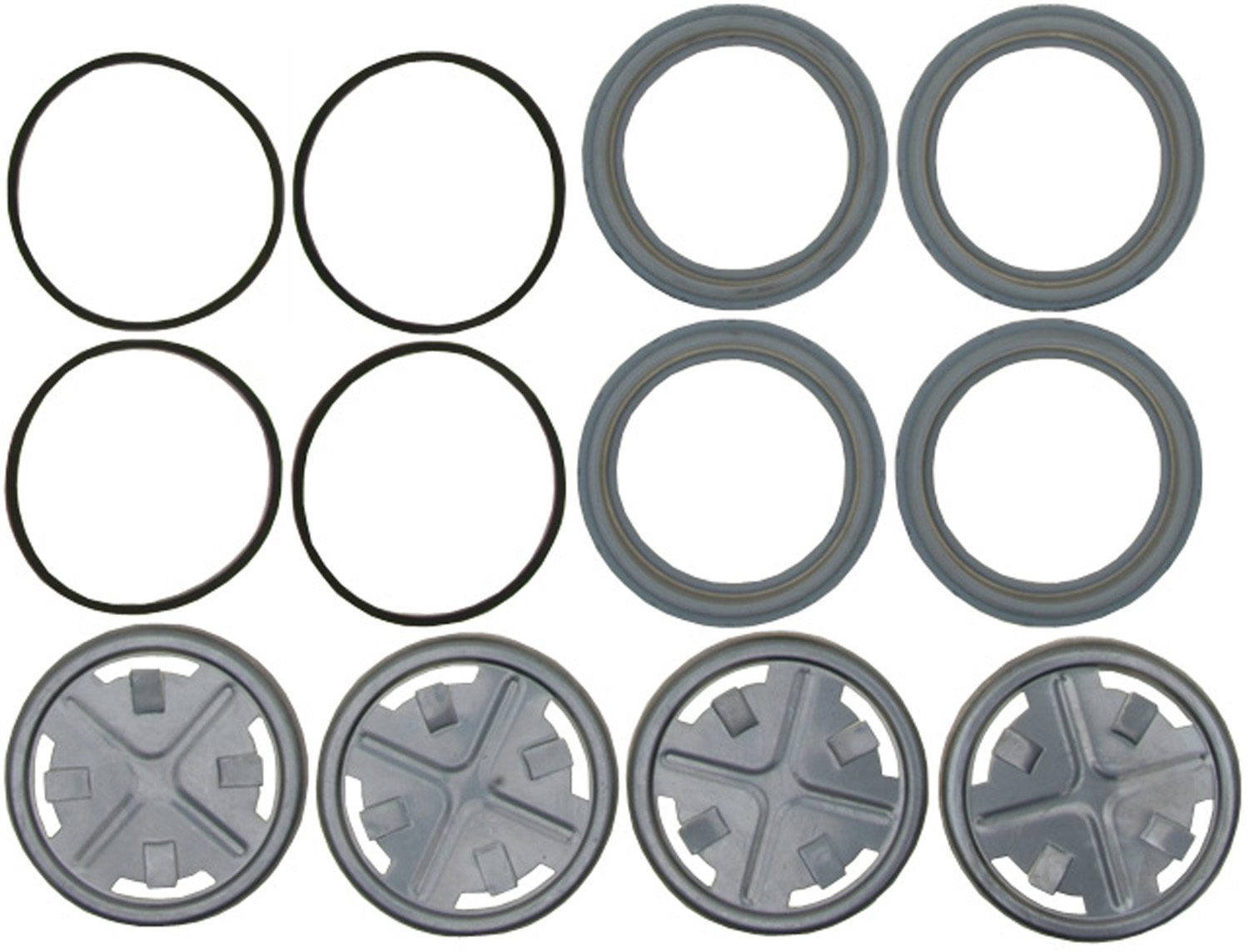 ACDELCO GOLD/PROFESSIONAL BRAKES - Disc Brake Caliper Seal Kit (Front) - ADU 18G197