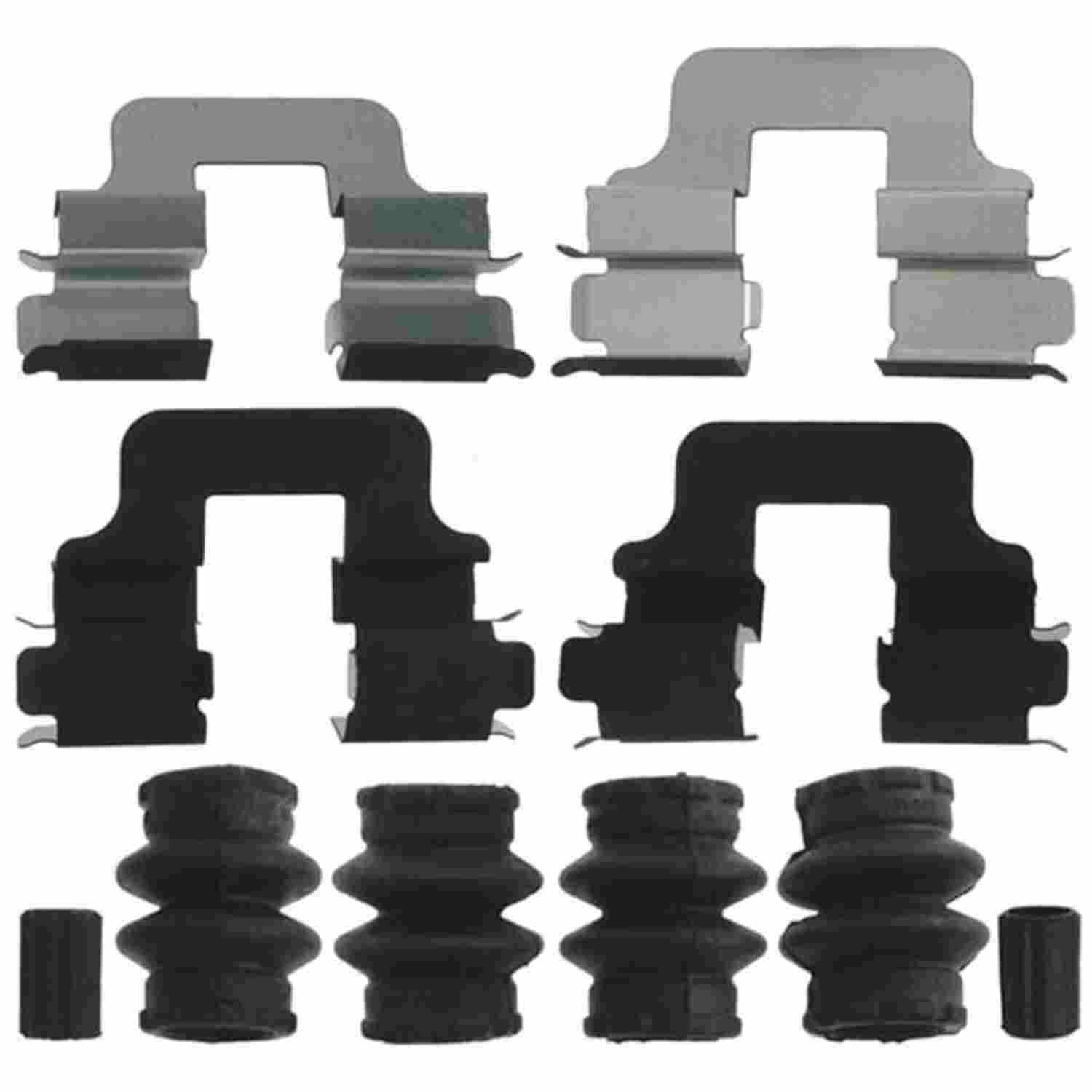 ACDELCO PROFESSIONAL BRAKES - Disc Brake Hardware Kit - ADU 18H1197