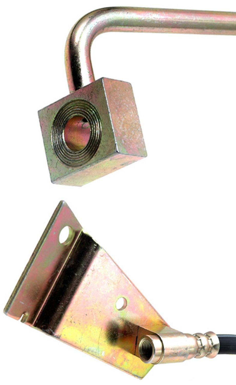 ACDELCO GOLD/PROFESSIONAL BRAKES - Brake Hydraulic Hose (Front Left) - ADU 18J1567