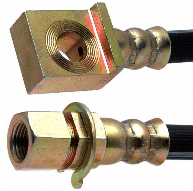 ACDELCO PROFESSIONAL BRAKES - Brake Hydraulic Hose (Front Left) - ADU 18J2350