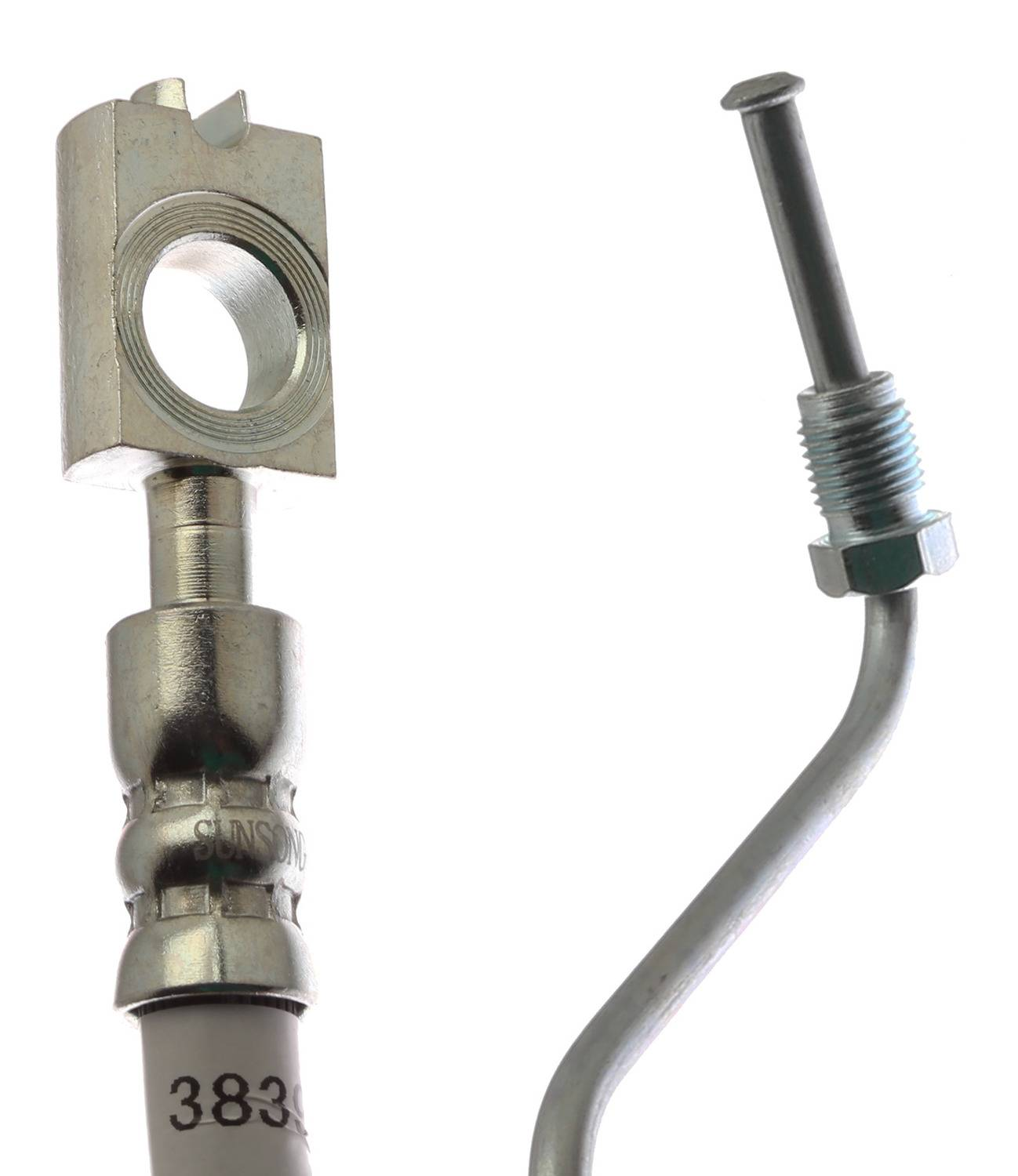 ACDELCO GOLD/PROFESSIONAL BRAKES - Brake Hydraulic Hose (Front) - ADU 18J383913