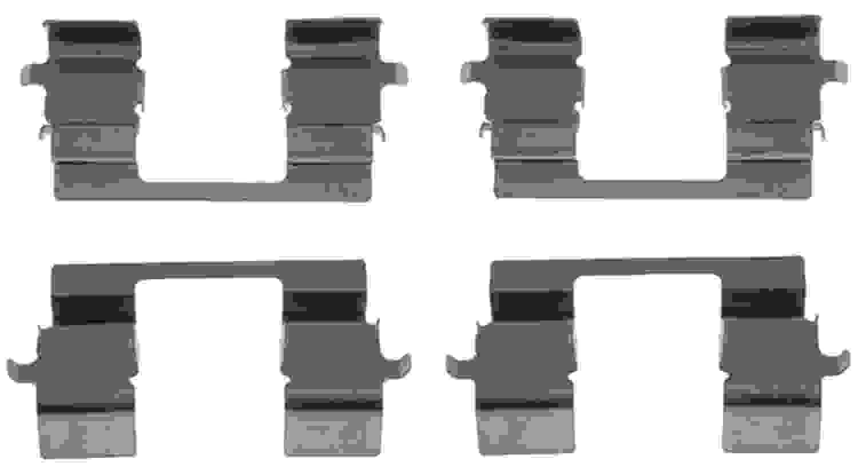 ACDELCO PROFESSIONAL BRAKES - Disc Brake Hardware Kit (Front) - ADU 18K1003X