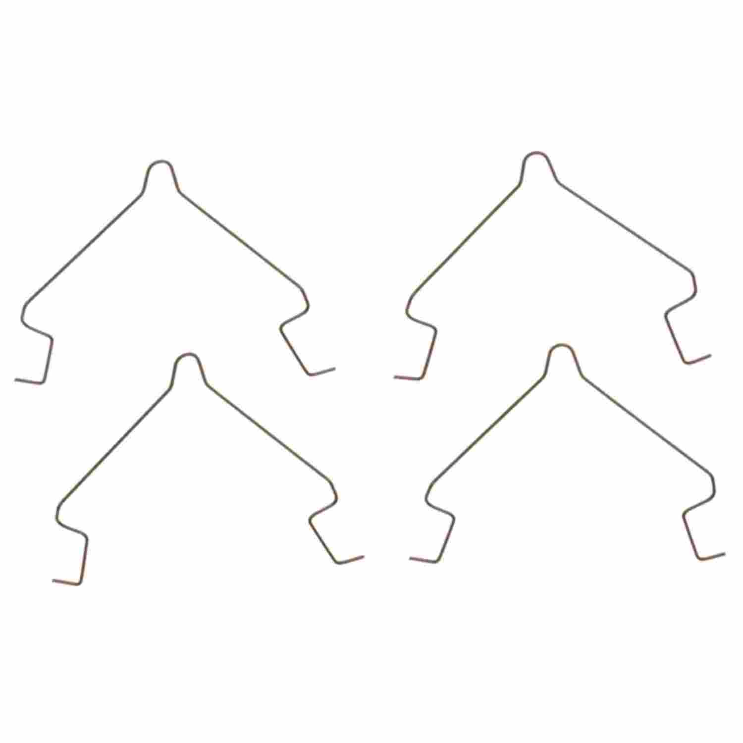 ACDELCO PROFESSIONAL BRAKES - Disc Brake Pad Drag Reduction Clip (Front) - ADU 18K1005SS