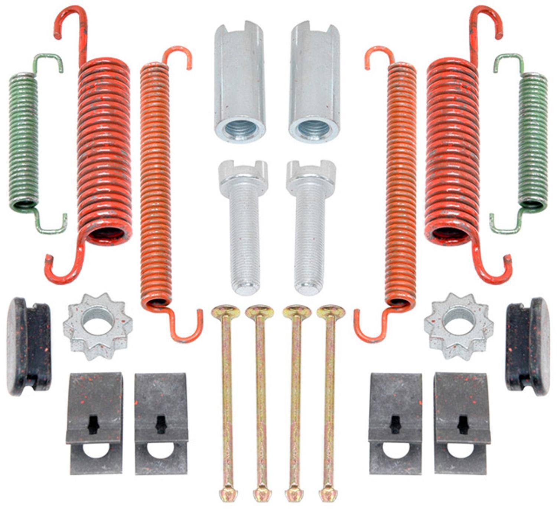 ACDELCO GOLD/PROFESSIONAL BRAKES - Parking Brake Hardware Kit (Rear) - ADU 18K1133